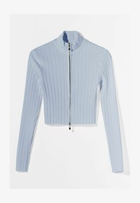 Bershka - Cardigan - light blue - 4