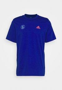 adidas Performance - SNACK PHOTO TEE - Camiseta estampada - royal blue - 3
