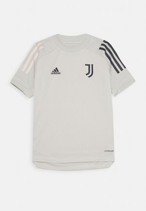 JUVENTUS AEROREADY SPORTS FOOTBALL UNISEX - Print T-shirt - grey/blue