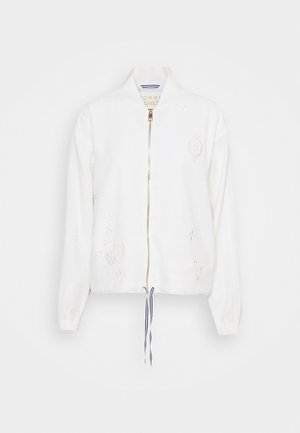 ICON FLUID BOMBER JACKET - Bomber Jacket - white