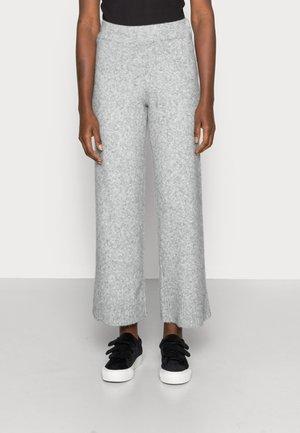 UNITE TROUSERS - Trousers - grey melange