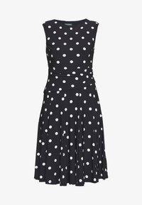 Lauren Ralph Lauren - PRINTED MATTE DRESS - Jersey dress - navy - 5