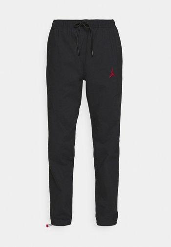 PANT - Pantaloni sportivi - black/gym red