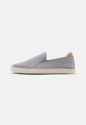 SAMMY - Sneakers laag - seal/silver