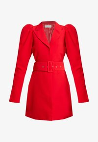 Nly by Nelly - VOLUME SLEEVE SUIT DRESS - Kjole - red - 4