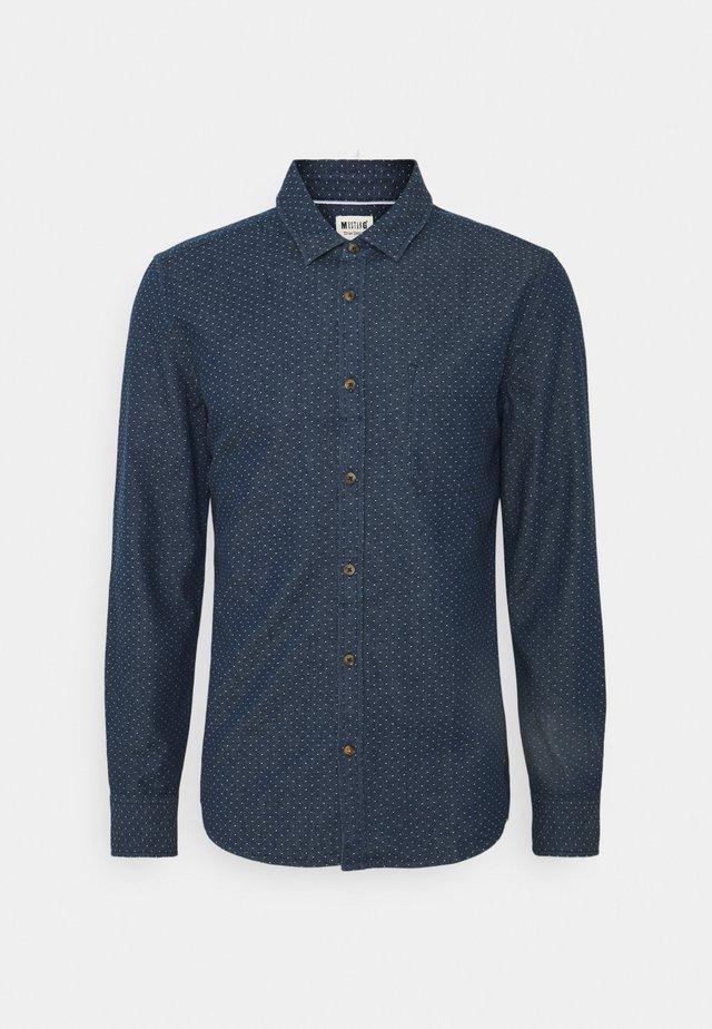CASPER DOBBY - Košile - blue