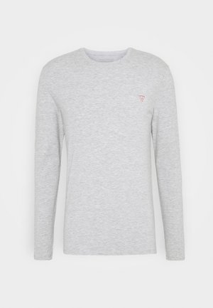 CORE TEE - Top s dlouhým rukávem - stone heather grey