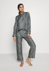 ASCENO - THE ANTIBES - Pantaloni del pigiama - agave wave - 1