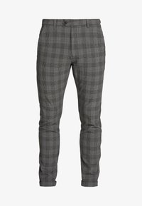 Jack & Jones - JJIMARCO JJCONNOR CHECK - Kalhoty - grey - 4
