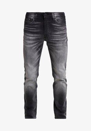 JJITIM JJICON - Slim fit jeans - black denim