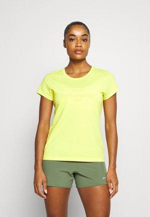 ORIGINAL TEE - Print T-shirt - citrine