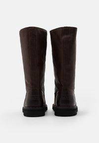 Shabbies Amsterdam - Vysoká obuv - dark brown - 3