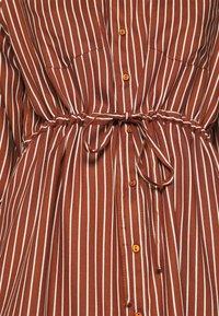 ONLY - ONLTAMARI DRESS - Shirt dress - tortoise shell/cloud dancer - 5
