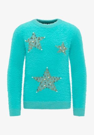 Jumper - turquoise