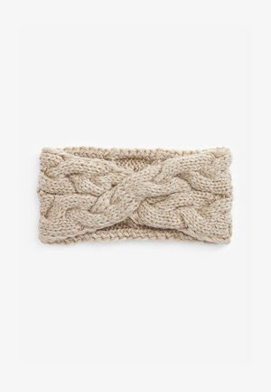 CABLE HEADBAND - Ear warmers - off-white
