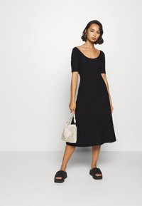 Zign Petite - Jersey dress - black - 1