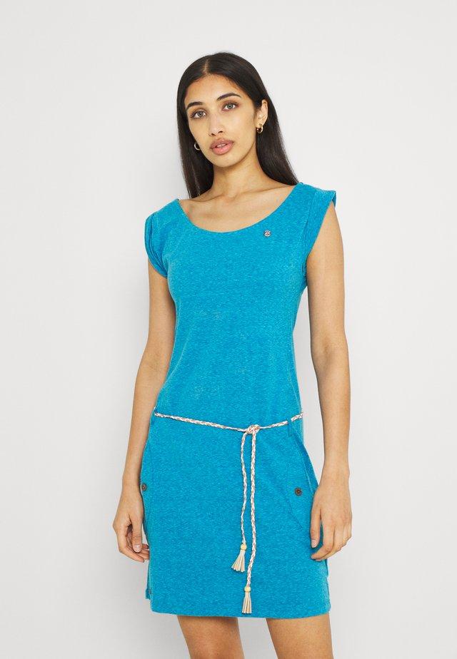 Žerzejové šaty - hellblau
