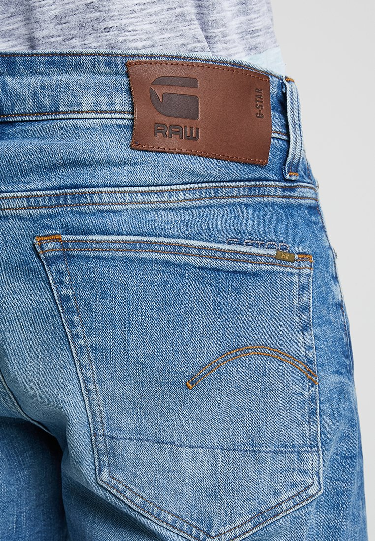 3301 STRAIGHT FIT Jeans straight leg azure stretch denim