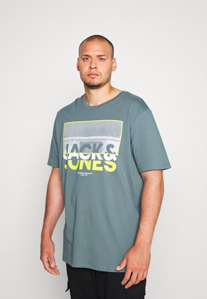 JCOTUNEL TEE CREW NECK - T-shirt print - north atlantic