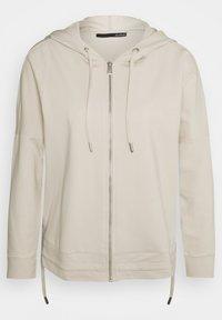 LeComte - Zip-up sweatshirt - creme - 0