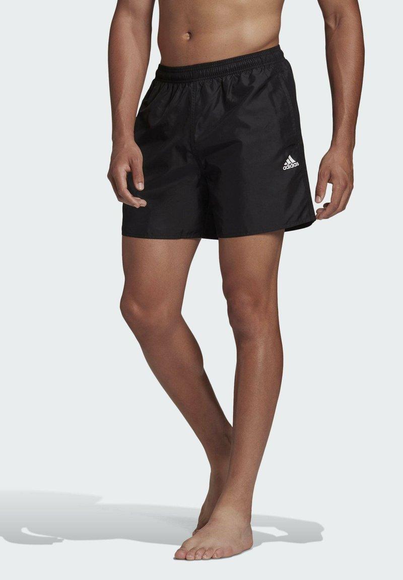 adidas Performance - SOLID CLASSICS SL PRIMEGREEN SWIM SHORTS - Swimming shorts - black
