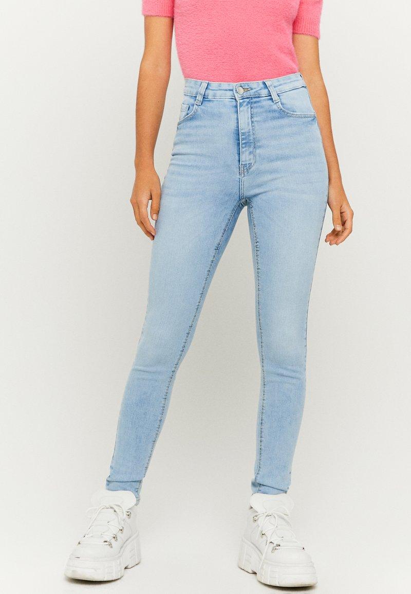 TALLY WEiJL - Skinny džíny - light blue