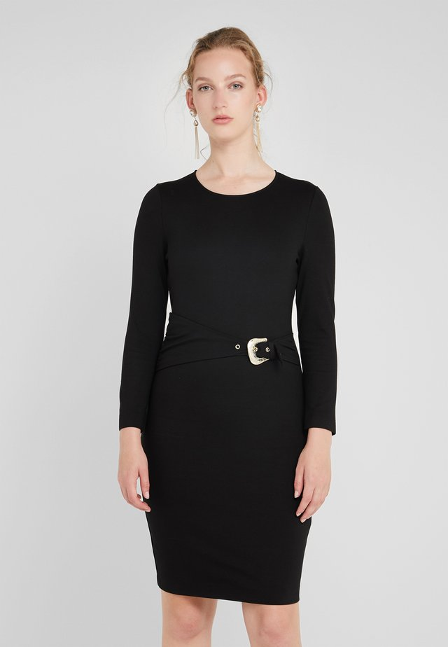 VESTITO - Shift dress - black