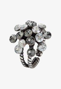 Konplott - Ring - white/antiquesilver-coloured - 3