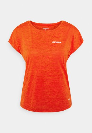 DEVINE - T-shirts basic - coral red