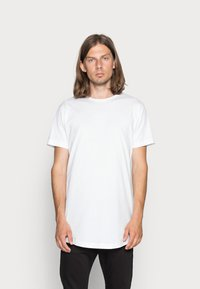 Urban Classics - 2 PACK - T-shirt - bas - white - 1