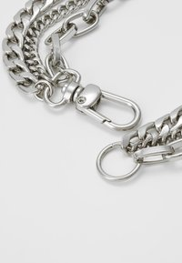 Weekday - MAURA CHAIN NECKLACE - Necklace - silver-coloured