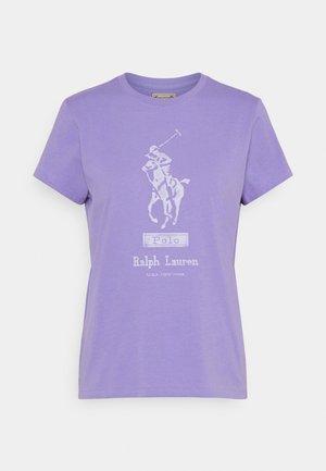 Print T-shirt - hyacinth