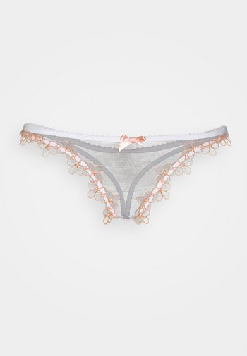 MAYBELLE THONG - Stringit - white/peach