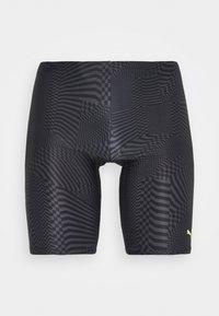Puma - SWIM PSYGEO JAMMER - Swimming shorts - black - 0
