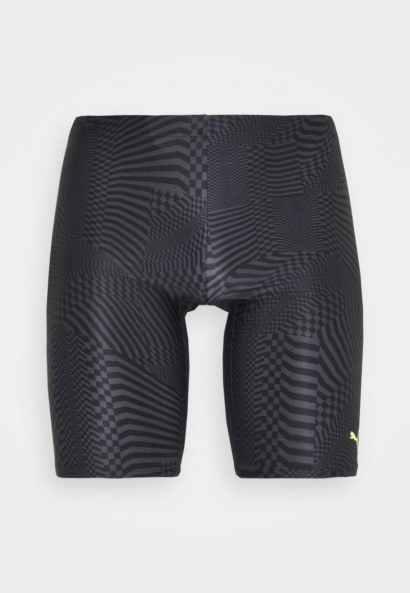 Puma - SWIM PSYGEO JAMMER - Swimming shorts - black