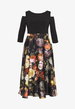 Vestido de cóctel - black/multi