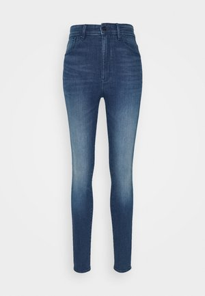 KAFEY ULTRA HIGH SKINNY - Jeans Skinny Fit - faded neptune blue