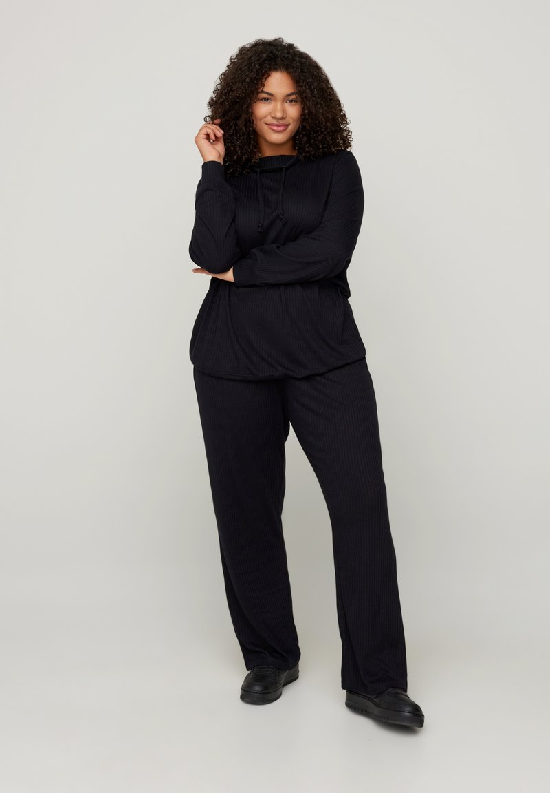 Zizzi - Teplákové kalhoty - black
