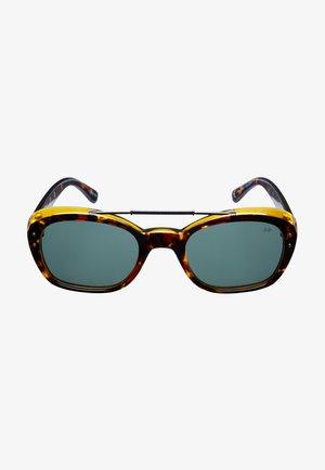 SUNHEROES SPUTNIK - Sunglasses - brown & green