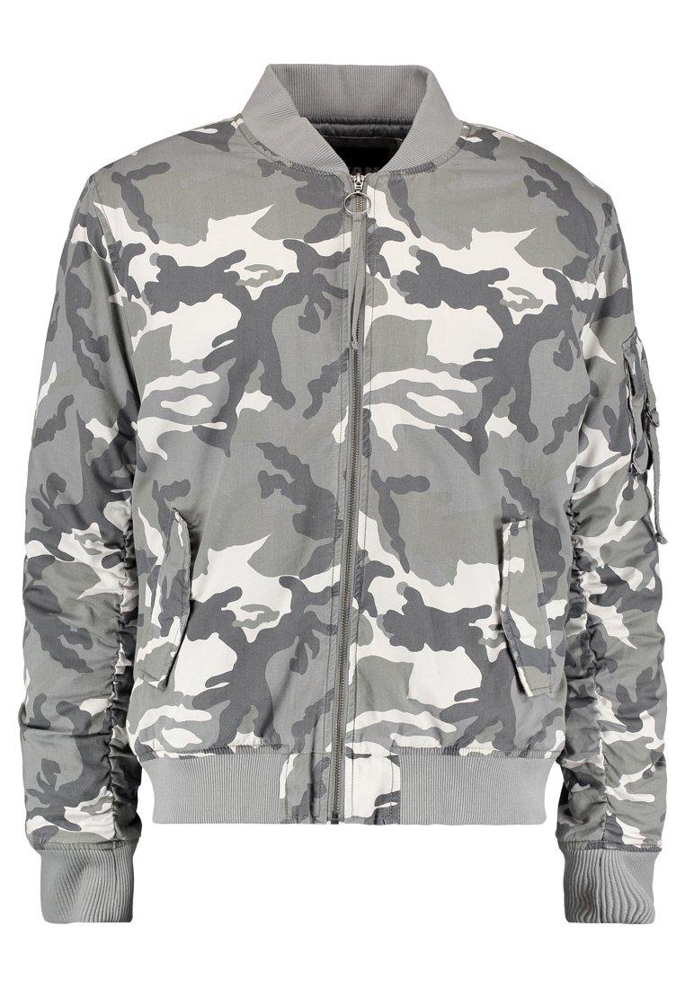 Men VINTAGE CAMO  - Bomber Jacket - snow