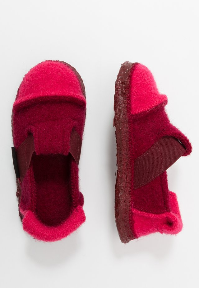 BERG - Slippers - rosa bord