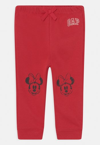 DISNEY MINNIE - MOUSE ARCH - Tracksuit bottoms - modern red