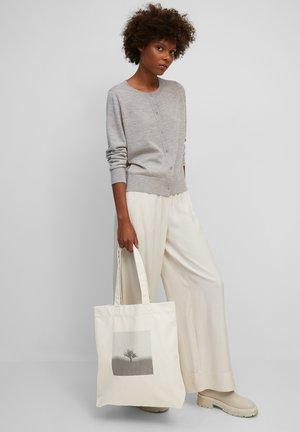 Tote bag - chalky sand / print