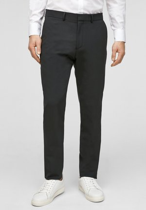 MIT HYPERSTRETCH - Suit trousers - black