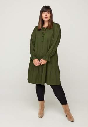 Day dress - army