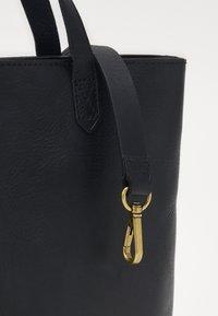 Madewell - THE ZIP TRANSPORT CROSSBODY - Handbag - true black - 4