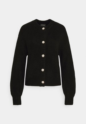 MAJLI CARDIGAN - Cardigan - black dark unique