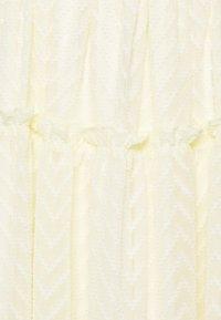 YAS - YASDEANNA 3/4 DRESS - Cocktailklänning - yellow - 2
