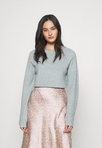 Vero Moda - VMDOFFY O NECK - Jumper - north atlantic/melange - 0