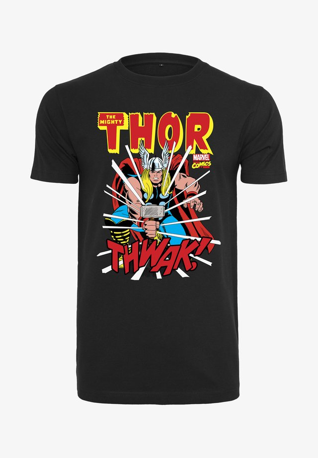 MARVEL THOR - Print T-shirt - black